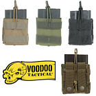 Voodoo Tactical MOLLE PALS Bungee Open Top Single Rifle Magazine Pouch 20-0131