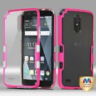 For LG Stylo 3/Plus TUFF Panoview Hybrid Shockproof Protector Case Cover