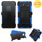 For Microsoft Lumia 650 Advanced Armor Stand Protector Cover Case w/Holster