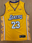 NWT LeBron James #23 Los Angeles L.A. Lakers Men's Stitched YELLOW Jersey