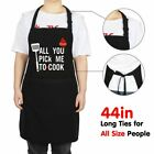 Women Household Cute Bowknot Apron Cooking Kitchen Bib Dress With Pocket Aprons