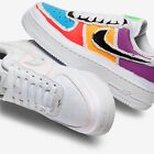 Nike Air Force 1 LX Tear Away Sail Black Tick UK5, 6, 6.5, 7, 8, 9.5 AF1 White