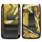 Wider Vertical Camouflage Pouch Fits with Hard Shell Case 5.74 X 2.95 X 0.6 inch