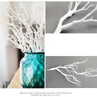 3pcs 35cm Artificial Dry Plant Tree Branch Stem Fake Foliage White Home Decor