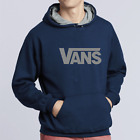 Navy and Grey Vans hoodie, two tone, Sizes S - L, Top Quality