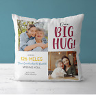 Personalised Hugs Printed Pillow Cushion | Pillowcase Cover | Gift Idea