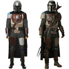 Star Wars The Mandalorian Cosplay Costume Halloween MASK Full Set FAST SHIPPING