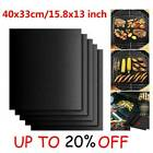 BBQ Grill Mat Reusable Non-Stick Oven Liners Teflon Cooking Barbecue Baking A4