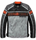 Harley-Davidson Mens Irogami Mesh Grey Functional Riding Jacket 97151-19VM
