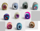 KNIT OR CROCHET A SHAWL IN A BALL  10 GORGEOUS COLOR CHOICES by LION BRAND YARN