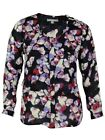 NY Collection Women's Floral Tiered Top