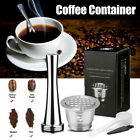 i Cafilas Reusable Refillable Coffee Capsule Pod Stainless Steel for Nespresso