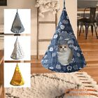 Removable Cat Hanging House Conical Tent For Cat Pet Washable Hammock Dog Pet UK