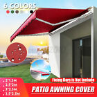6.5'x4.9' Top Canopy Replacement Sunshade Patio Outdoor Garden Awning Cover S