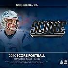 2020 Score Football Pick Your Card (1-250) .75 Combined S/H $0.99 USD on eBay