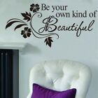 Quote Mural Words Art Vinyl Wall Sticker Home Kitchen Room Decal Decor Family UK