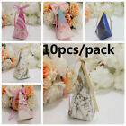 Wedding Decoration Birthday Gifts Triangle Tower Gift Box Candy Bag Sugar Case