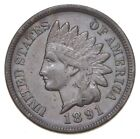 1891 Indian Head Cent - Charles Coin Collection *754