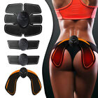 EMS Abdominal Hip Muscle Trainer Slim Simulator ABS Training Buttocks Battery  image