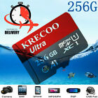 Hot Selling KRECOO 256GB Memory Card 100MB/S 4K Class10 Flash Card with Adapter