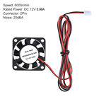 1Pcs 40 * 40 * 10mm DC 12V Brushless Cooler Cooling Fan 2 Wire for 3D R9N4