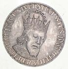 SILVER - WORLD Coin - 1965 Austria 50 Schilling - World Silver Coin *447