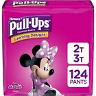 Pull-Ups Learning Designs Girls' Training Pants, 2T-3T, 124 Ct, One Month Supply