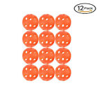 30Pcs Golf Practice Training Balls Blue Airflow Hollow Perforated Plastic A4 UK