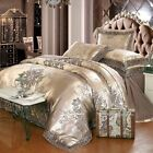 Luxury Bedding 4/6 Silk-like Soft Quilt Cover and Pillowcase Extra Large
