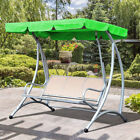 2 & 3 Seater Sizes Spare Cover Replacement Canopy Swing Seat for Garden Outdoor