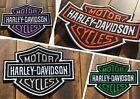 Patch Iron-On Harley-Davidson Embroidered Patch $4.5 USD on eBay
