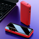 900000mAh Portable Fast Battery Charger Backup Dual USB LED Power Bank for Phone