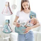 Infant Baby Carrier Wrap Newborn Nursing Front Sling Back Pouch Hipseat Backpack