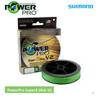 Shimano Power Pro Super 8 Slick V2 Braided Mainline - Cod Bass Carp Lure Fishing