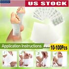 10-100 PCS Detox Foot Pads Patch Detoxify Toxins Fit Health Care Pad US STOCK