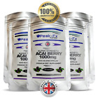 Acai Berry 1000mg High Strength Capsules Fat Burner Weight Loss Slimming Diet