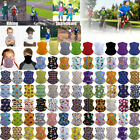 Kids Neck Gaiter Face Mask Bandana Tube Scarf Balaclava Headband Can Put Filter