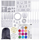 229pcs DIY Jewelry Making Starter Kit Repair Fix Tool Craft Supplies With Molds