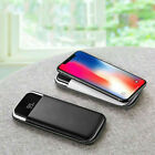 Power Bank 2 USB LCD LED 2000000mAh Battery Charger for Phone Case UltraThin New