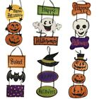 Happy Halloween Balloon Set Letter Flag Banner Party Supplies Decor Props