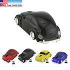 HOT 2.4Ghz Wireless Classic VW beetle car mouse Computer MAC Mice  USB Receiver