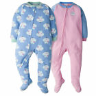 Blanket Sleepers, 2pk Toddler Girls
