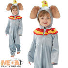 Dumbo Kids Fancy Dress Disney Circus Animal Boys Girls Elephant Costume Outfit