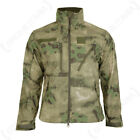 SCU Army Military Camouflage Softshell Polyester Coat Jacket - Mil-Tacs FG