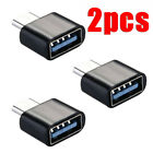 2 Pack USB-C Type C 3.1 Male to USB 3.0 Type A Female OTG Adapter Data Converter