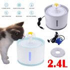 2.4L Automatic Electric Pet Water Bowl Clean Purified Drinking Dispenser KU