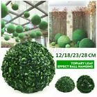 Artificial Grass Ball Flower Plant Topiary Hanging Home Garden Wedding Decor Diy