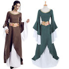 Renaissance Dress Medieval Costume Pirate Peasant Wench Victorian Bell Sleeve