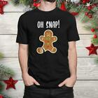 Gingerbread Man Oh Snap Outfit Pajama Funny Christmas Shirt Trend Gift
