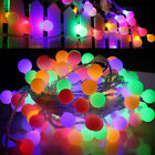 LED Fairy String Lights Battery Garden Outdoor Christmas Night Light Waterproof